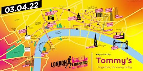 2022 London Landmark Half Marathon - St John's Hospice Charity Places tickets