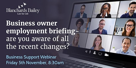 The essential Employment Law update for business owners tickets