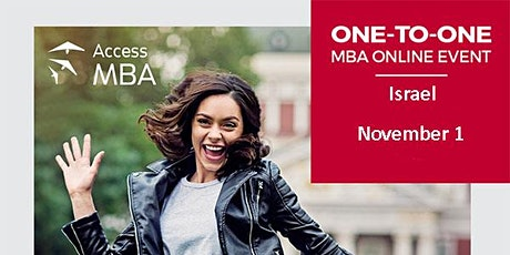 Access MBA online event in Israel! tickets