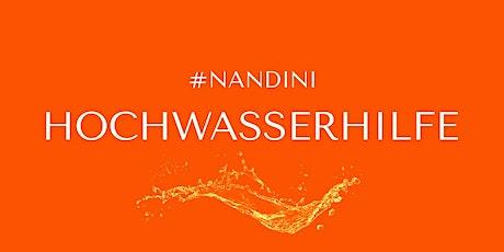 #NANDINI Hochwasserhilfe Montag Tickets