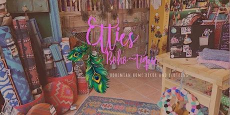 Ettie's Boho-tique Christmas Shopping Event tickets