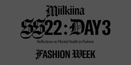 Reflections on Mental Health in Fashion tickets