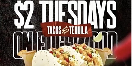 $2 Tacos and Tequila Tuesday at Hendrixx tickets