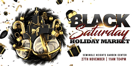 Black Saturday Holiday Market tickets