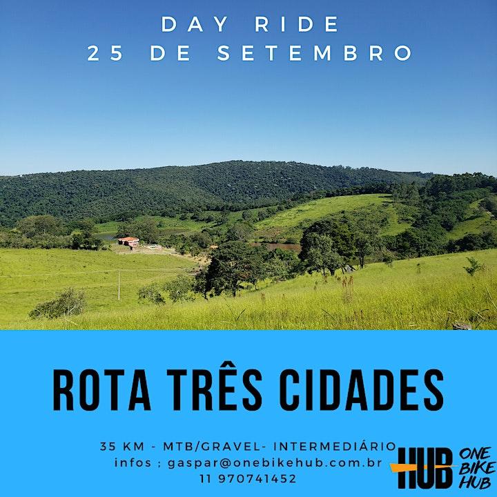 Imagem do evento Rota Três Cidades - MTB - 35 km - Intermediário