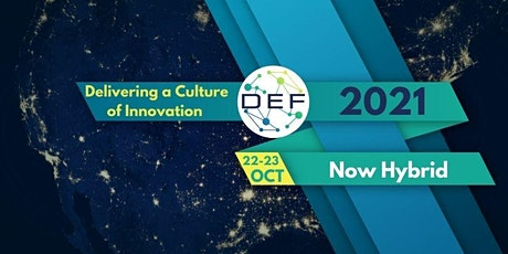 DEF2021: Delivering a Culture of Innovation (Virtual) tickets