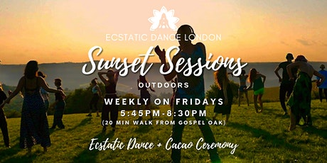 Ecstatic Dance London SUNSET SESSIONS on Fri- Outdoor Silent Disco  & Cacao tickets