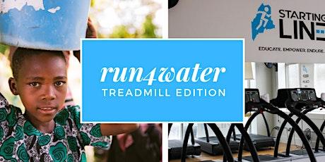Run4Water : Indoor Run and Charity Fundraiser [VIRTUAL] tickets