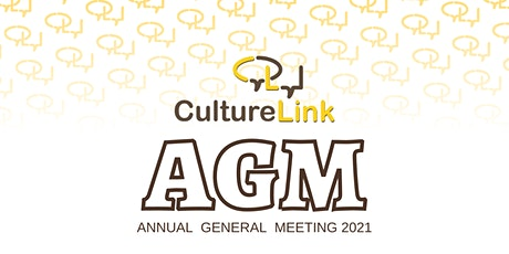 CultureLink's Annual General Meeting 2021 tickets