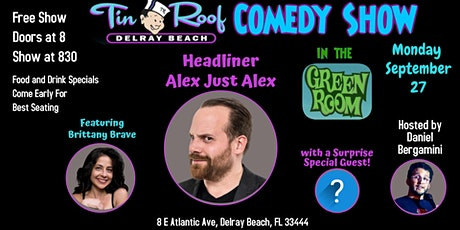 Tin Roof Comedy Night tickets