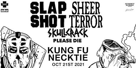 Slapshot & Sheer Terror with Skullcrack tickets