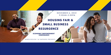 November 06, 2021 Free Community Housing Fair and Business Resurgence Event tickets