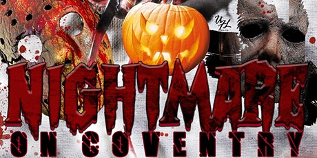 Nightmare On Coventry | Halloween Costume Bash! tickets