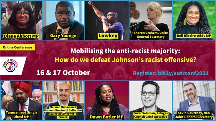 Stand Up To Racism International Conference image