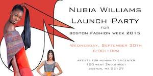 Nubia Williams Boston Fashion Week Launch Party 2015