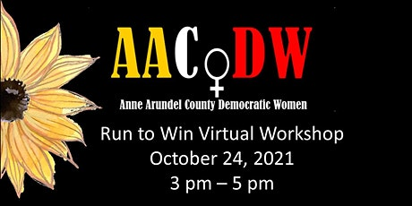 Run To Win - Running and Supporting a Winning Campaign in Anne Arundel Co tickets