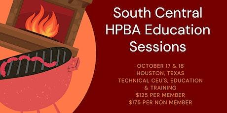 SCHPBA Houston Education Training tickets