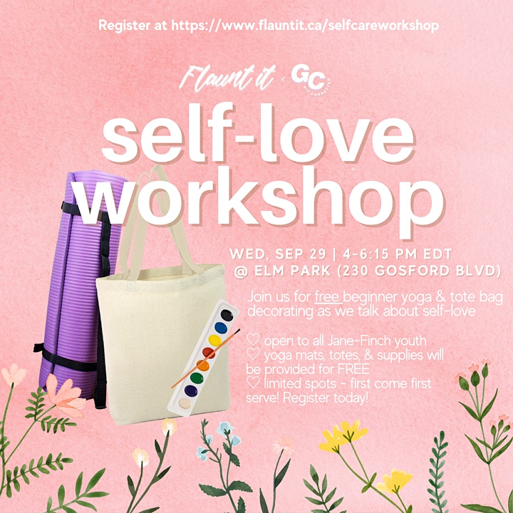 Self-Love/Care Workshop image