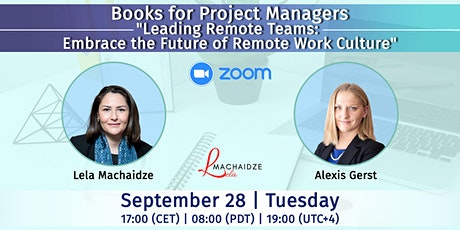 """Books for Project Managers - """"Leading Remote Teams"""" tickets"""