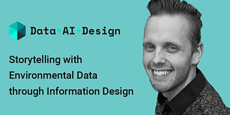 Storytelling with environmental data through information design tickets