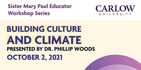 Building Culture and Climate tickets