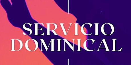 1er. Servicio Dominical - Domingo 3 de Octubre tickets