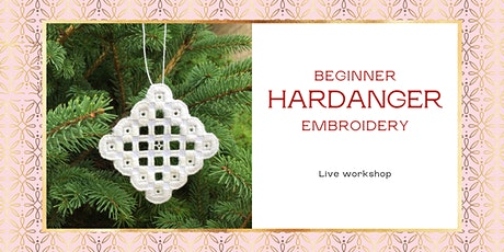 Hardanger Embroidery Workshop in two sessions tickets