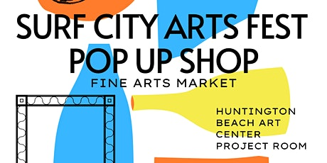 Surf City Arts Fest Pop-up Shop tickets