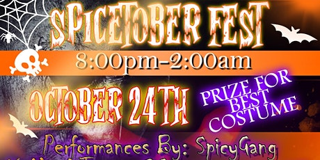 Spicetober Fest Halloween Party/Music Showcase tickets