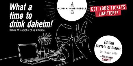 Online Wine Tasting: Griechenlands geheime Schätze! Tickets