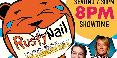 Rusty Nail Comedy: takes over Oktoberfest 2021 tickets