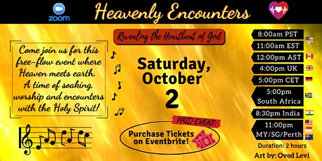 RHG Heavenly Encounters - Oct 2, 2021 tickets