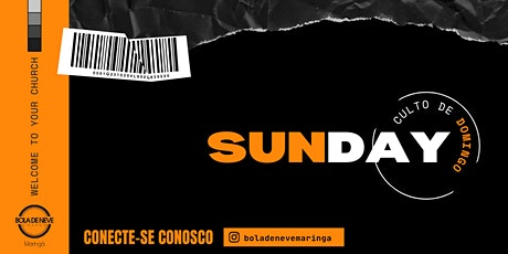 CULTO DOMINGO (17/10) 18H00 ingressos