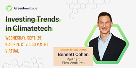 Investing Trends in Climatetech tickets