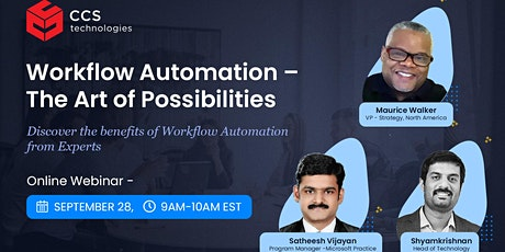 Workflow Automation - The Art of Possibilities tickets