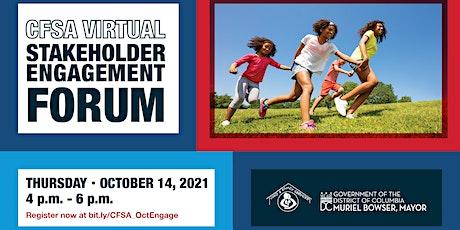 CFSA Virtual Engagement Forum: October 2021 tickets