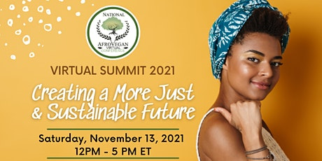National Afro-Vegan Conference Virtual Summit tickets