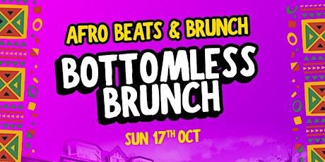 Afrobeats n Bottomless Brunch tickets