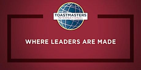 Kashim Toastmasters Weekly Meeting tickets