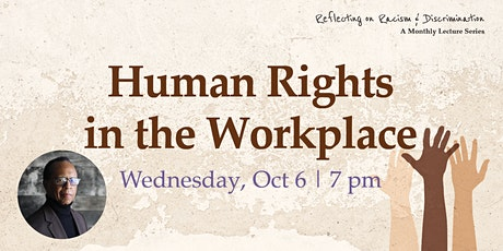 Reflecting on Racism & Discrimination: Human Rights in the Workplace tickets
