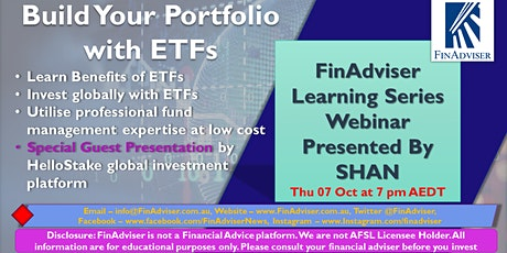Build Your Investment Portfolio with ETFs tickets