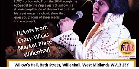 Gordon Hendricks is ELVIS in Willenhall 2022 tickets