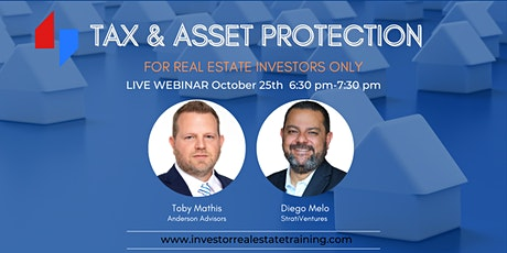 Tax And Asset Protection For Real Estate Investors Tickets