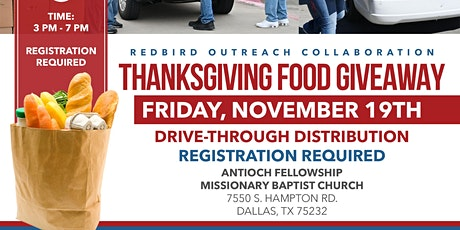 Thanksgiving Food Giveaway - FWBC Members Only Registration tickets