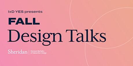 IxD Fall Design Talks with Alumni, Kate Matesic tickets