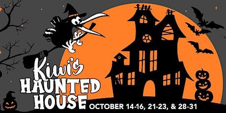 Kiwi's Haunted House tickets