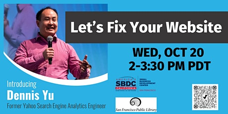 Let's Fix Your Website— Live Audits and Tweaking Workshop tickets