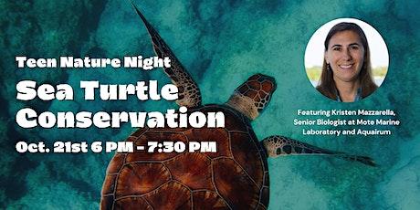 Teen Nature Night: Sea Turtle Conservation tickets