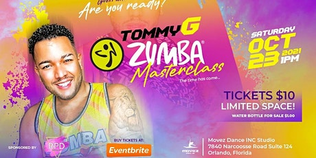 Guess Who's Back MasterClass With TommyG tickets