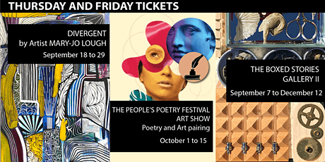 The Gallery at Loft 112 - Thursday and Friday tickets
